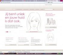UNCOVER SKINCARE opzet en realisatie websites
