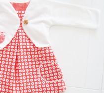 Lalize - jurkje en bolero van fijn ecokatoen (mt 62-80)